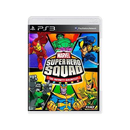 Marvel Super Hero Squad The Infinity Gauntlet - Usado - PS3