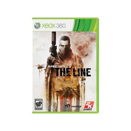 Spec Ops The Line - Usado - Xbox 360
