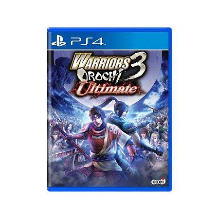 Warriors Orochi 3 Ultimate - Usado - PS4