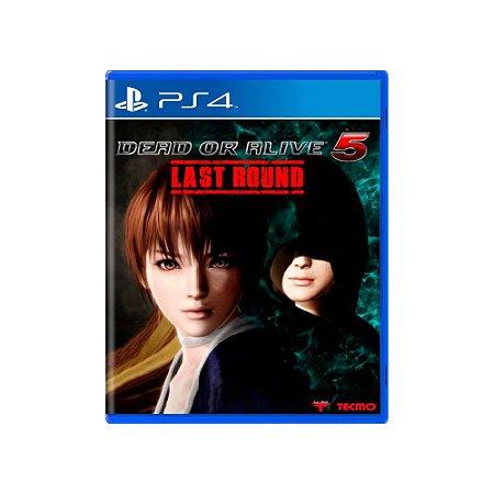 Dead or Alive 5 Last Round - Usado - PS4