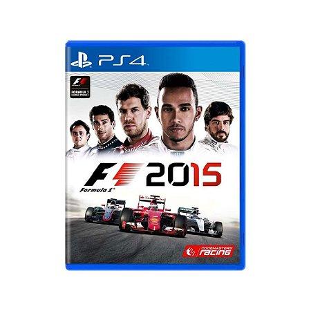 Formula 1 2015 - Usado - PS4
