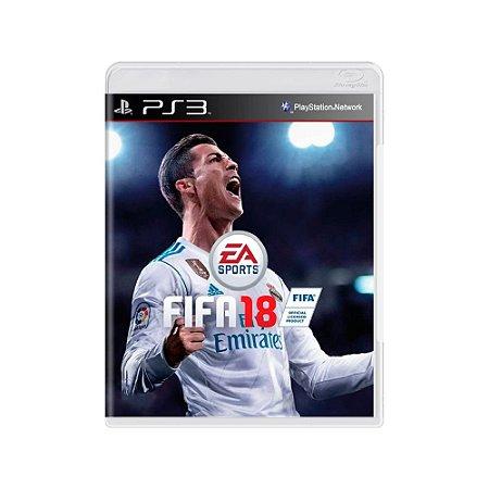 Fifa 18 - Usado - PS3