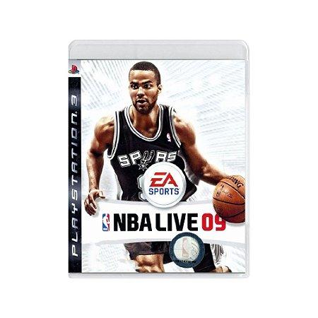 NBA Live 09 - Usado - PS3