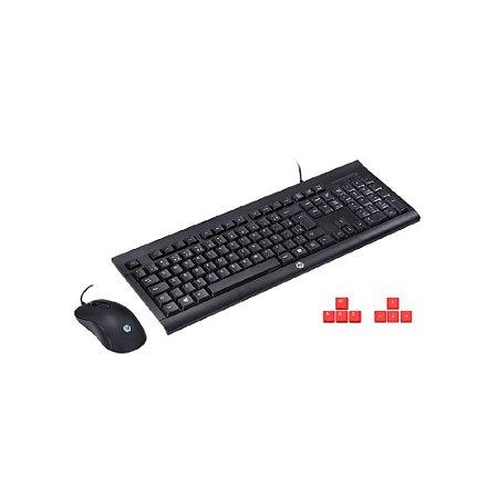 Kit Teclado e Mouse HP Gamer KM100