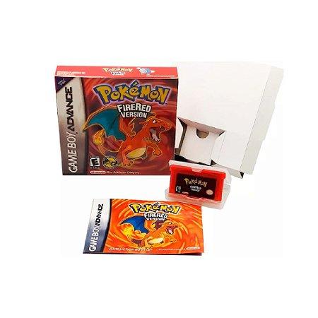 Pokemon FireRed Version - Usado - GBA