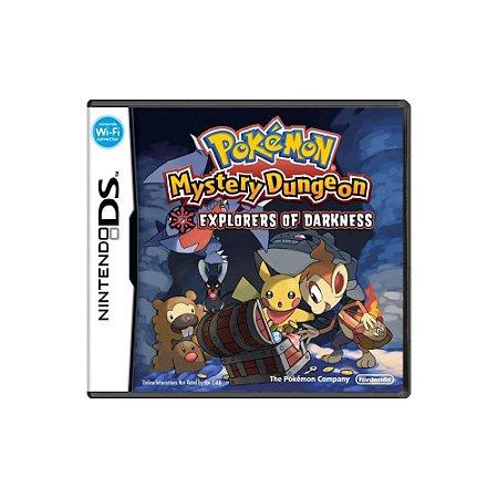 Pokémon Mystery Dungeon Explorers of Darkness - Usado - DS
