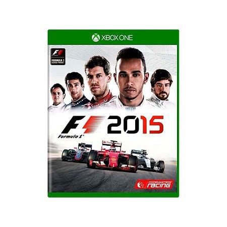 Formula 1 2015 - Usado - Xbox One