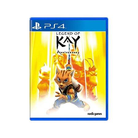 Legend of Kay: Anniversary - Usado - PS4