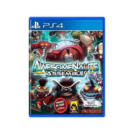 Awesomenauts Assemble! - Usado - PS4