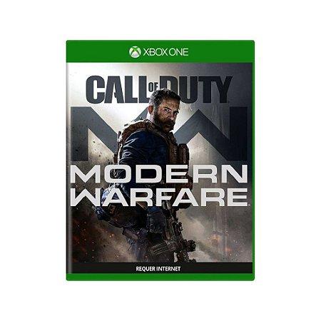 Call of Duty: Modern Warfare - Usado - Xbox One