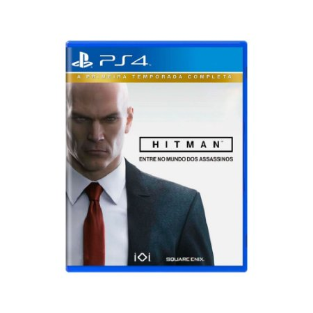 Hitman: A Primeira Temporada Completa - Usado - PS4