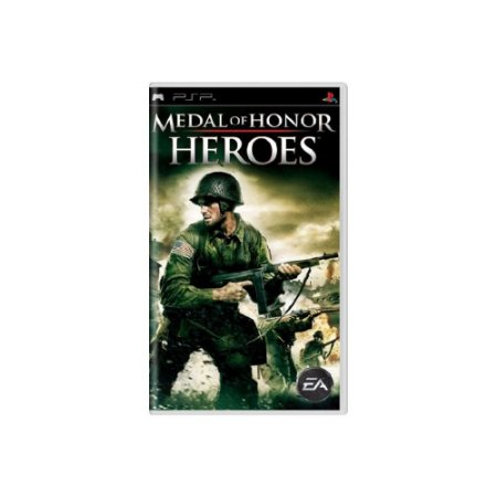 Medal of Honor Heroes - Usado - PSP