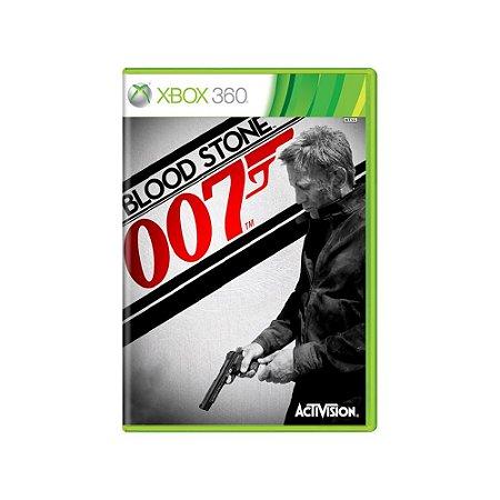 007 Blood Stone - Usado - Xbox 360