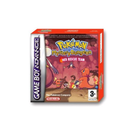 Pokémon Mystery Dungeon Red Rescue Team - Usado - GBA