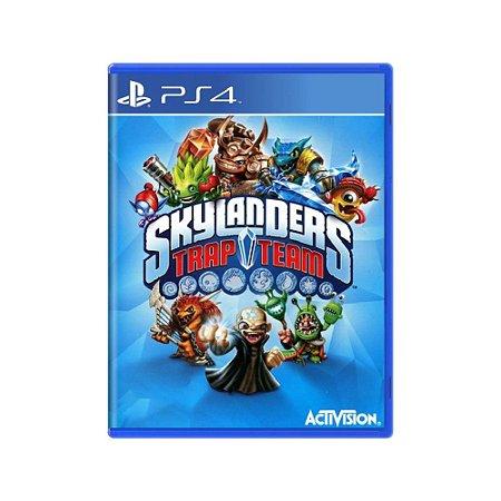 Skylanders Trap Team - Usado - PS4