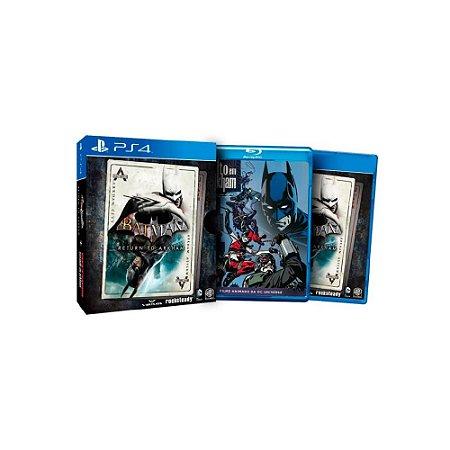 Batman Return To Arkham + Filme - Usado - PS4