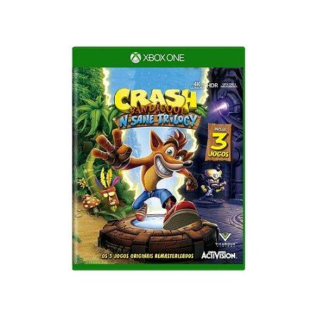 Crash Bandicoot N. Sane Trilogy - Usado - Xbox One