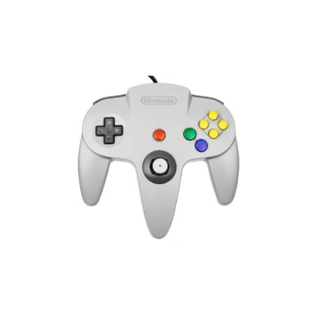 Controle Nintendo 64 Cinza - Usado - Nintendo