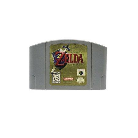 The Legend of Zelda Ocarina of Time - Usado - N64