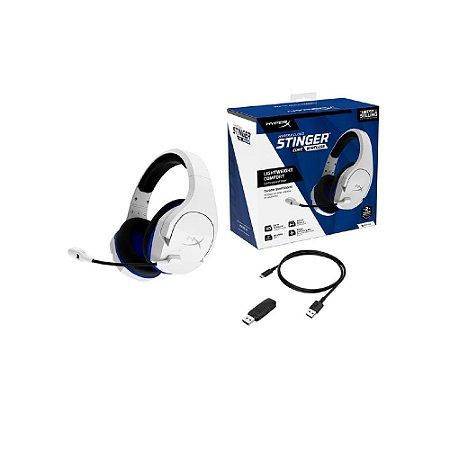 Headset Gamer Sem Fio HyperX Cloud Stinger Core - PS4