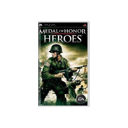 Medal of Honor Heroes (Sem Capa) - Usado - PSP