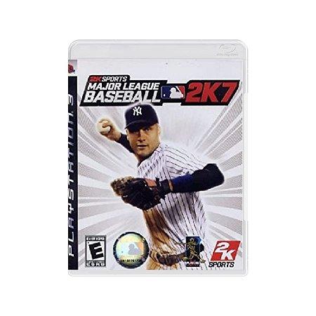 Major League Baseball 2K7 - Usado - PS3