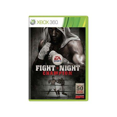 Fight Night Champion - Usado - Xbox 360