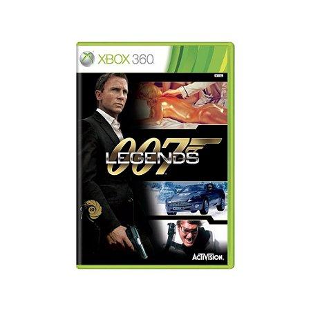 007 Legends - Usado - Xbox 360