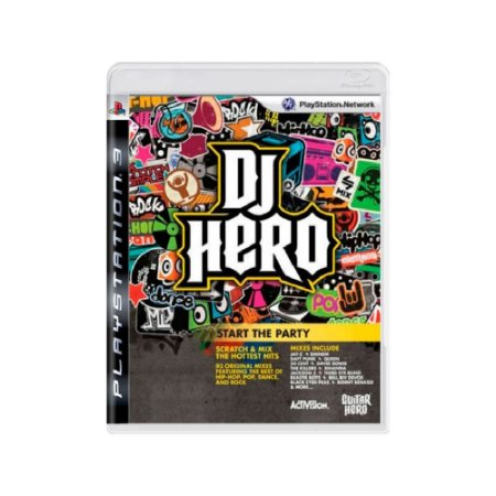 Dj Hero - Usado - PS3