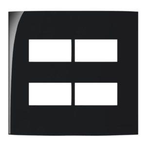Sleek PT - Placa sem Suporte 4x4 Margirius - 4 Modulos Separados