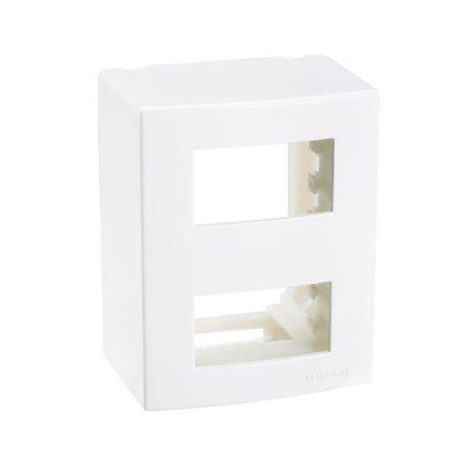 Sleek - Caixa de Sobrepor 2 Postos Separados