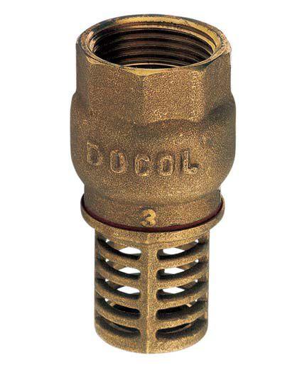 Valvula Poço Metal Rosca