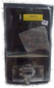 Caixa Eletropaulo Vazia Policarbonato 1 Medidor Lateral