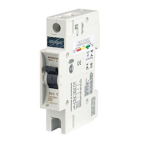 Disjuntor Din Siemens Unipolar
