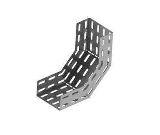 Eletrocalha - Curva Perfurada Vertical Interna 90º
