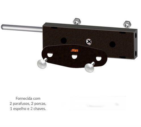 Trava Stam Porta Enrolar - Lateral  1 Par