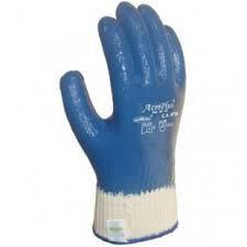 Luva Mao Acriplus Azul Ref - 20 AZ