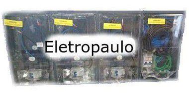 Caixa Eletropaulo Montada Policarbonato 3 Medidor Lateral