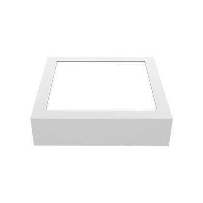 Plafon Led Quadrado Branco Frio