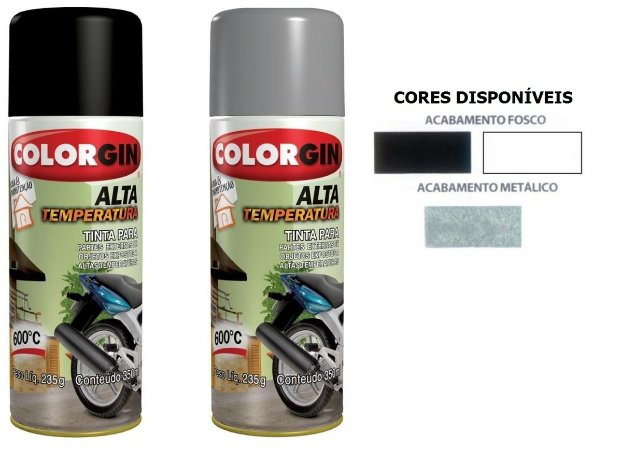 Spray Alta Temperatura
