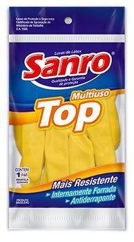 Luva Mao Top Forrada Amarela