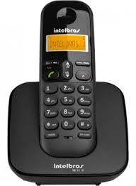 Telefone Intelbras sem Fio Digital TS 3110