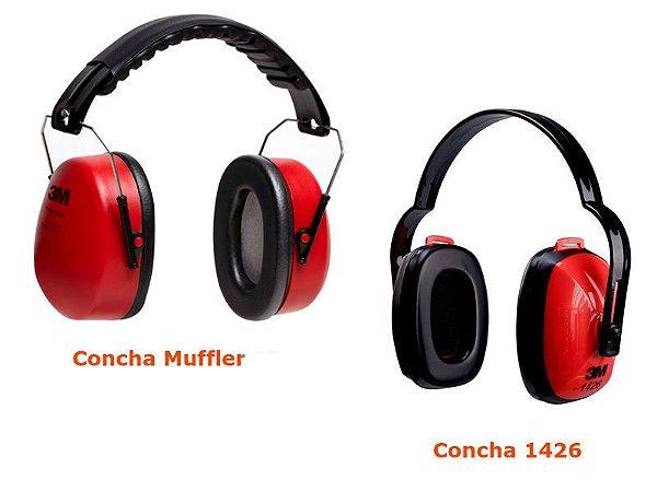 Protetor Auricular Concha 3M