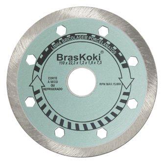 Disco Diamantado BrasKoki Porcelanatos