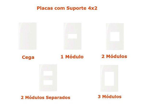 Sleek BR - Placas com Suporte 4x2