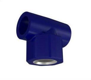 PPR Azul - Tee Liso x Rosca Metal