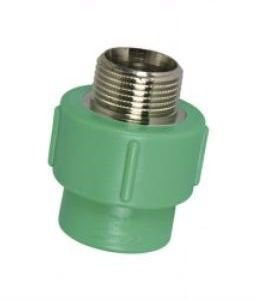PPR Verde - Conector Macho