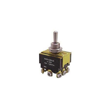 Interruptor Alavanca Tripolar 15A - Serie 14.000