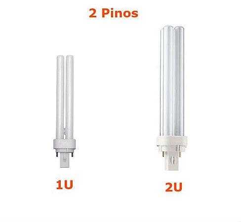 Lampada P.L Fluorescente 2 Pinos