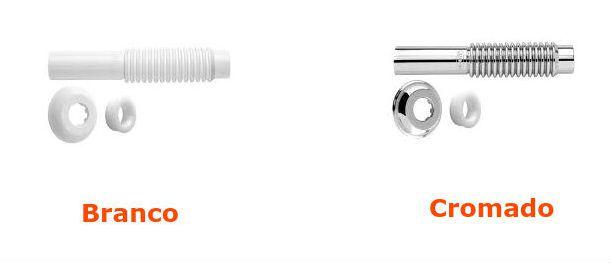 Tubo Ligação Ajustável para Vaso Sanitário